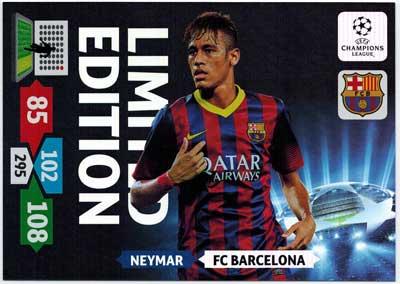 XXL Limited Edition, 2013-14 Adrenalyn Champions League, Neymar