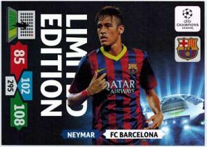 XXL Limited Edition, 2013-14 Adrenalyn Champions League, Neymar