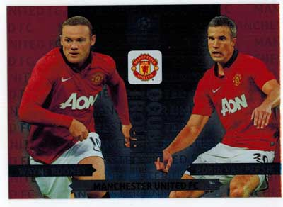 Double Trouble, 2013-14 Adrenalyn Champions League, Wayne Rooney / Robin Van Persie