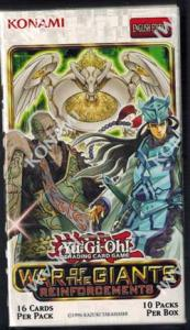 Yu-Gi-Oh, War of The Giants Reinforcements, Display (10 Boosters)