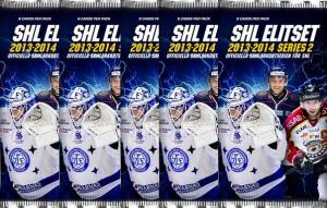5 Packs 2013-14 SHL s.2