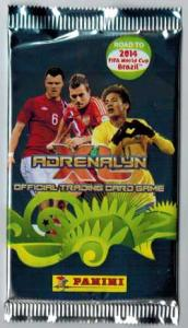 1 Pack Panini Adrenalyn XL Road to the World Cup 2013-14