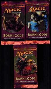Magic, Born of the gods, 3 Boosters