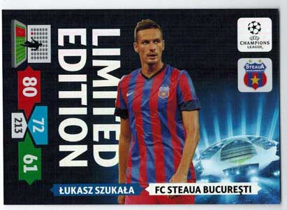 Limited Edition, 2013-14 Adrenalyn Champions League, Lukasz Szukala