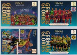 German Glories, 2013-14 Adrenalyn Champions League, Set med 4 kort