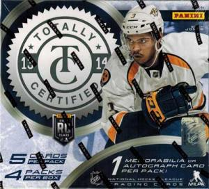Hel Box 2013-14 Panini Totally Certified