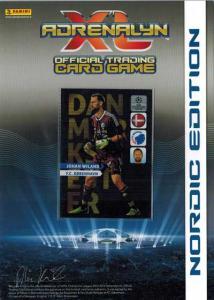 Autografkort Danmarks Mester, 2013-14 Adrenalyn Champions League, Johan Wiland