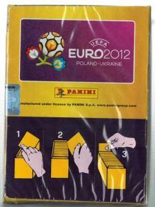Hel Box Panini Stickers EM 2012 (100st Paket)