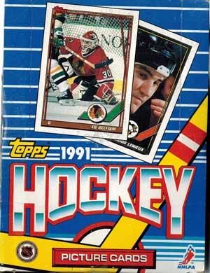 Hel Box 1991-92 Topps