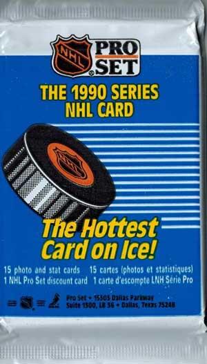 1st Paket 1990-91 Pro-Set