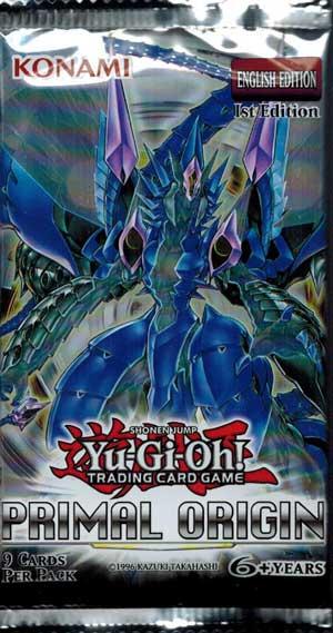 Yu-Gi-Oh, Primal Origin, 1 Booster