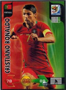 Cristiano Ronaldo, Adrenalyn XL World Cup 2010