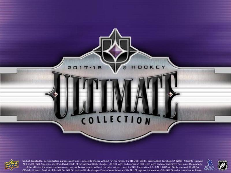 Hel Box 2017-18 Upper Deck Ultimate Collection