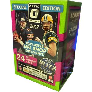 Incoming: Sealed Blaster Box 2017 Panini Optic Football (Preliminary arrival March 28:th)