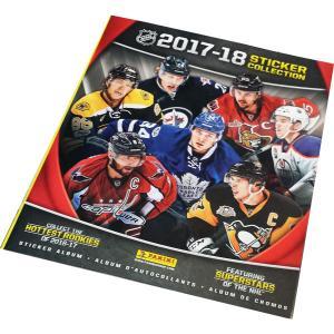 Album 2017-18 Panini Stickers NHL (För klisterbilder)