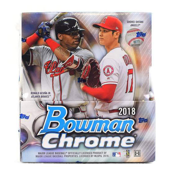 Hel Box 2018 Bowman Chrome Baseball Hobby