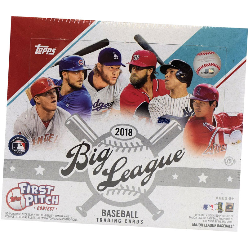 Hel Box 2018 Topps Big League Baseball