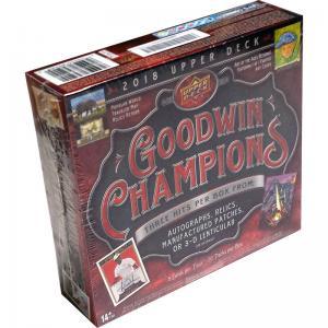 Hel Box 2018 Upper Deck Goodwin Champions Hobby