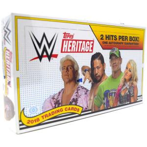 Sealed Box 2018 Topps WWE Heritage Wrestling