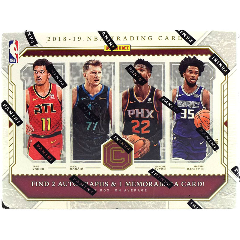 Hel Box 2018-19 Panini Cornerstones Basketball Hobby