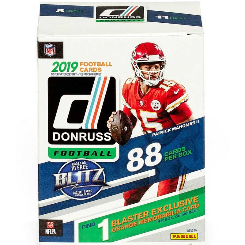 Hel Blaster Box 2019 Panini Donruss Football