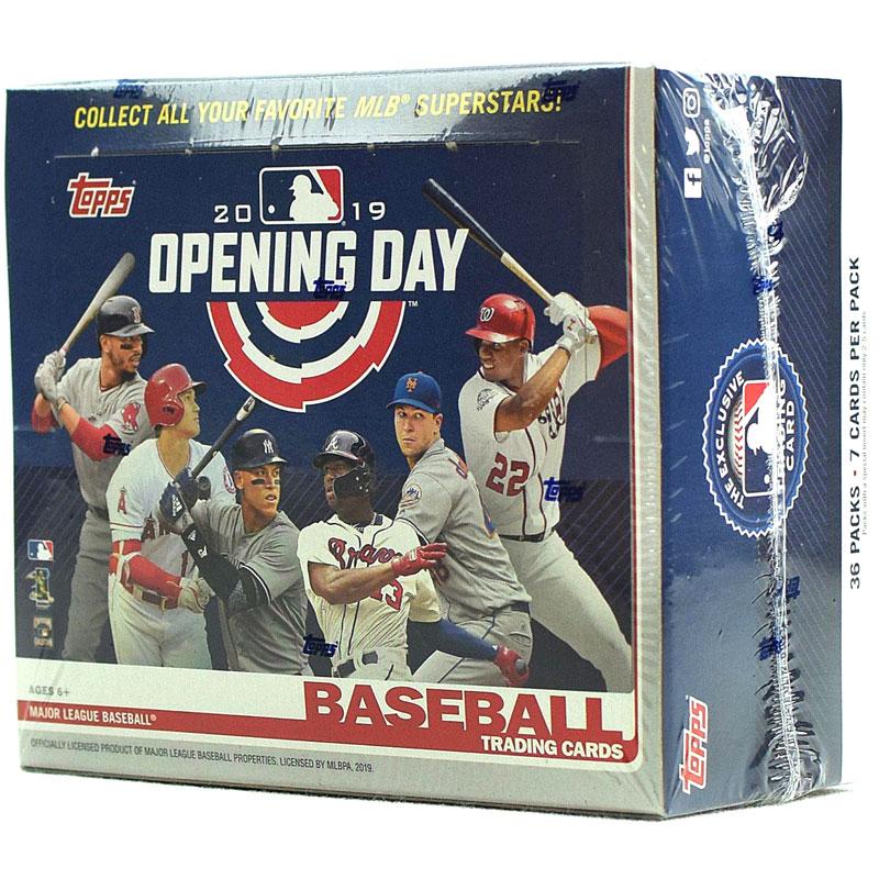 Hel Box 2019 Topps Opening Day Baseball Hobby
