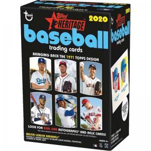 Hel Blaster Box 2020 Topps Heritage Baseball