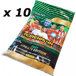 10st Starter Pack Panini Adrenalyn XL FIFA 365 2020-21 UPDATE EDITION