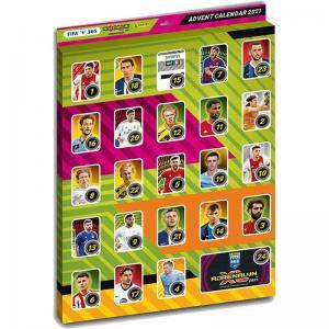 FÖRRA ÅRETS: 1st Adventskalender Panini Adrenalyn XL FIFA 365 2020-21