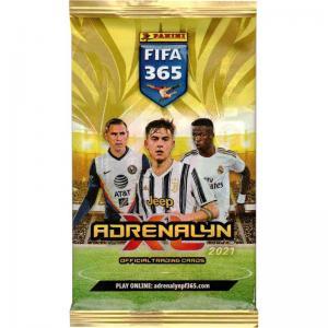 1st Paket Panini Adrenalyn XL FIFA 365 2020-21
