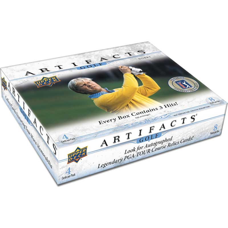 [Only sales to Europe] Hel Box 2021 Upper Deck Artifacts Golf Hobby