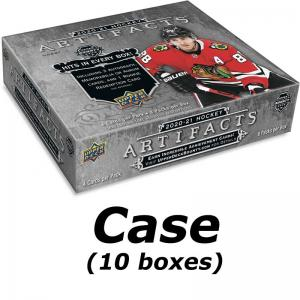 Sealed Case (10 Boxes) 2020-21 Upper Deck Artifacts Hobby [94607]
