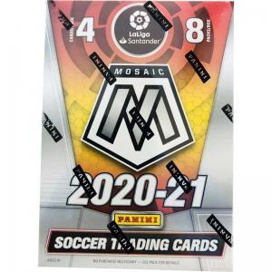 Sealed Blaster Box 2020-21 Panini Mosaic La Liga Soccer
