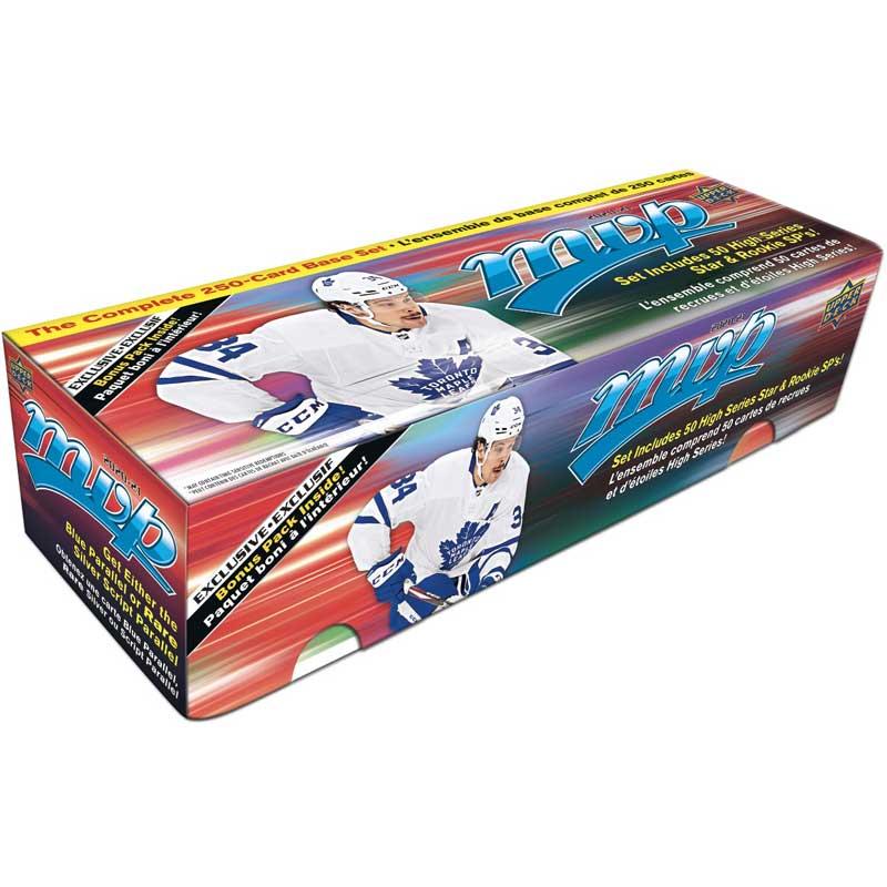Hel Box 2020-21 Upper Deck MVP Box Set (250 + 5 kort) [Blå Box]