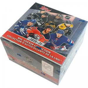 Sealed Box 2020-21 Topps NHL Stickers