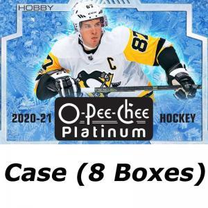 FÖRKÖP: Hel Case (8 Boxar) 2020-21 Upper Deck O-Pee-Chee Platinum Hobby [95124] (Preliminär release 20:e oktober 2021)