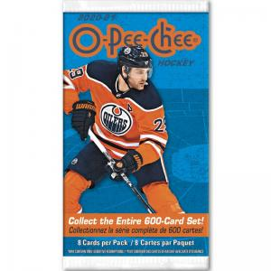 1st Paket 2020-21 Upper Deck O-Pee-Chee Retail