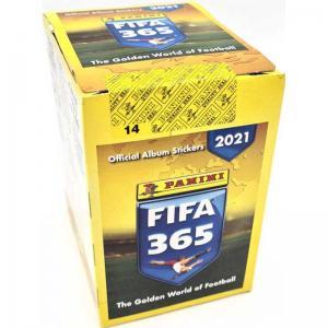 Hel Box (50 paket) 2020-21 Panini FIFA 365 Stickers (Klisterbilder)