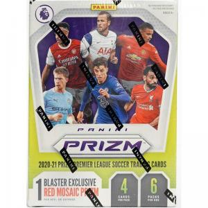 Sealed Blaster Box 2020-21 Panini Prizm Premier League Soccer (6 Packs)