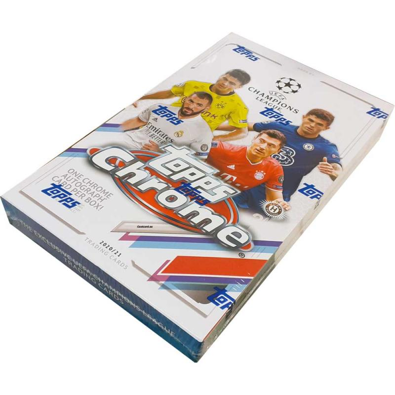 Hel Box 2020-21 Topps UEFA Champions League Chrome Soccer Hobby