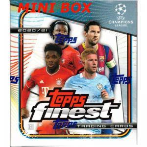 Sealed Mini Box 2020-21 Topps Finest UEFA Champions League Soccer Hobby (Mini)