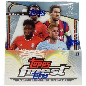 Sealed Master Box 2020-21 Topps Finest UEFA Champions League Soccer Hobby (Master)