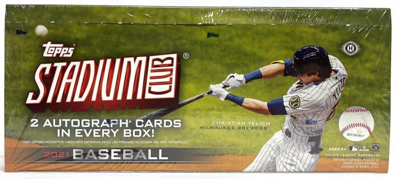Hel Box 2021 Topps Stadium Club Baseball Hobby
