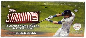 Sealed Box 2021 Topps Stadium Club Baseball Hobby