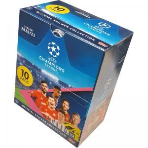 Hel Box (30 Paket), UEFA Champions League Stickers 2020-21 (Klisterbilder)