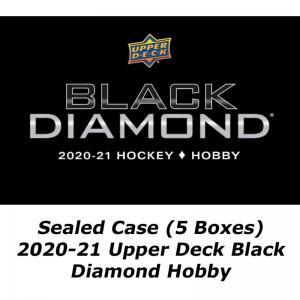 FÖRKÖP: Hel Case (5 Boxar) 2020-21 Upper Deck Black Diamond Hobby (SENARELAGD just nu okänt releasedatum)