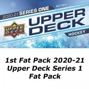 1st Fat Pack 2020-21 Upper Deck Series 1 Fat Pack