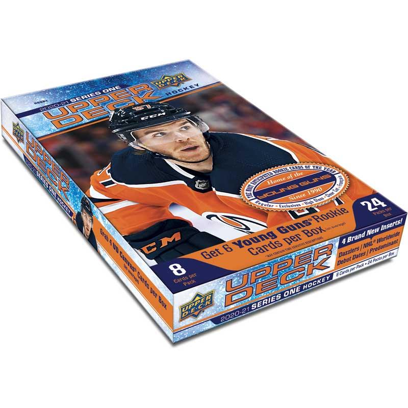 Hel Box 2020-21 Upper Deck Series 1 Hobby