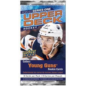 1st Paket 2020-21 Upper Deck Series 1 Retail