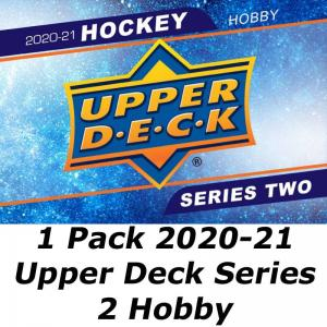 1st Paket 2020-21 Upper Deck Series 2 Hobby